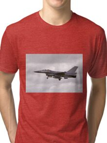 Belgian Air Component General Dynamics F-16AM Tri-blend T-Shirt