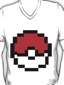 8 bit Pokeball T-Shirt