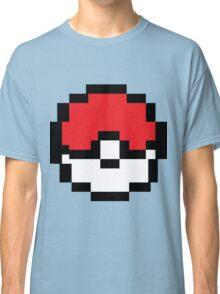 8 bit Pokeball Classic T-Shirt