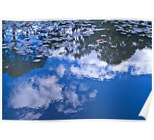 Cloud ripples Poster