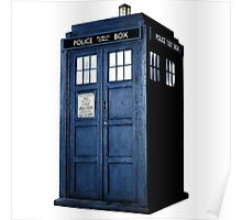 Doctor Who Tardis Call Box  Poster