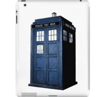 Doctor Who Tardis Call Box  iPad Case/Skin