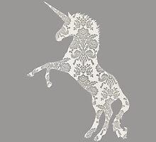 Silver Unicorn by Mivaldi