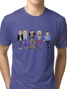 Psychoville characters inspired design Tri-blend T-Shirt