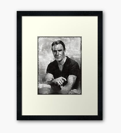 Randolph Scott Hollywood Actor Framed Print