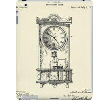 Advertising Clock-1888 iPad Case/Skin
