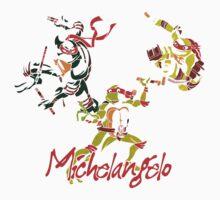 3 X Michelangelo One Piece - Short Sleeve