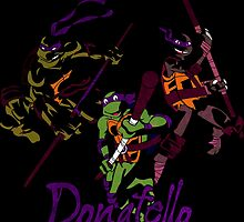 3 X Donatello by Novanator