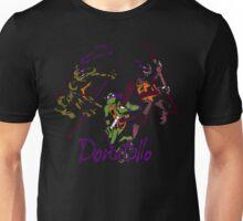 3 X Donatello Unisex T-Shirt
