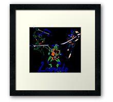3 X Leonardo Framed Print