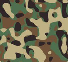 Camouflage, Warfare, War, Jungle, Combat, Hunt, Hunting Sticker