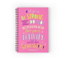 YOUR ACTIVITY WILL BE REWARDED Spiral Notebook