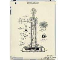 Telephone Desk Stand-1908 iPad Case/Skin