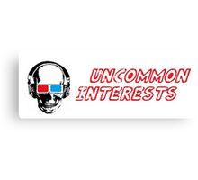 Uncommon Interests Logo 1 Canvas Print
