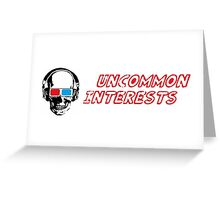Uncommon Interests Logo 1 Greeting Card