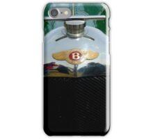 "Bentley ""Red Label"" radiator badge. iPhone Case/Skin"