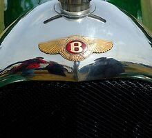 "Bentley ""Red Label"" radiator badge. by John Morris"