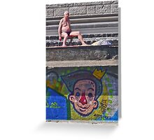Sunning by the Danube? Greeting Card