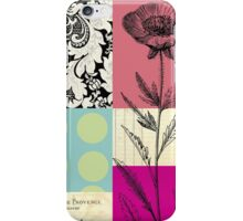 Flower Blocks iPhone Case/Skin