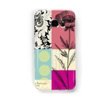 Flower Blocks Samsung Galaxy Case/Skin