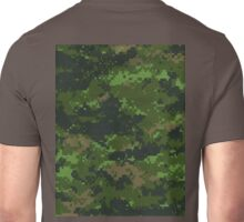 CADPAT, Camouflage, first pixellated, Digital, Battledress Unisex T-Shirt
