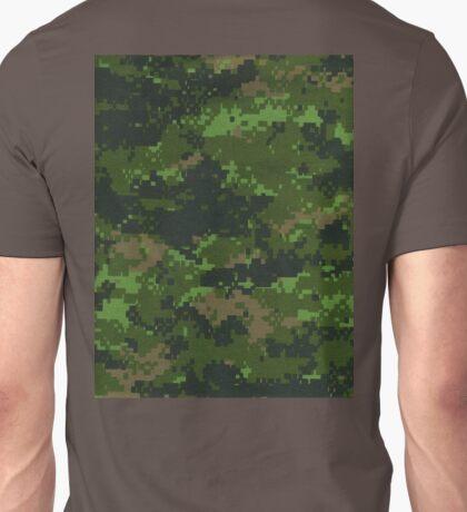 CADPAT, Camouflage, first pixellated, Digital, Battledress Unisex T-Shirt