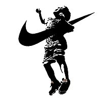 Banksy Nike Photographic Print
