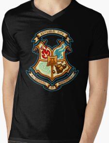 school of bending Mens V-Neck T-Shirt