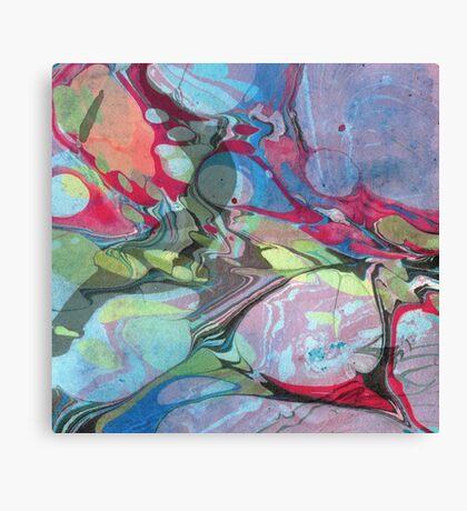 Abstract Painting ; Nebula Canvas Print