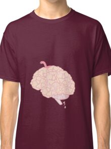 Brain with worm.  Classic T-Shirt