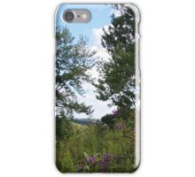 View of the Hills from the Chaparral Prairie  iPhone Case/Skin