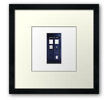 Doctor Who Tardis Phone Case / Poster Framed Print