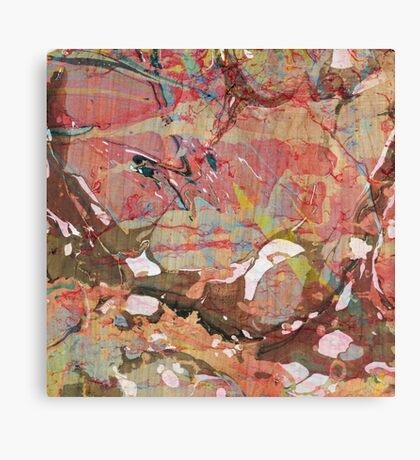 Abstract Painting ; Autumn Canvas Print