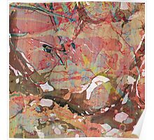 Abstract Painting ; Autumn Poster