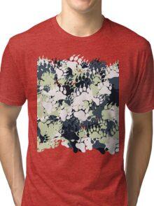 Bear Paw Camo Tri-blend T-Shirt