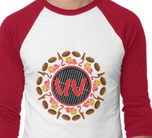 Ultimate Wisconsin Tailgate Men's Baseball ¾ T-Shirt