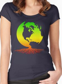 Mother Earth Roots Women's Fitted Scoop T-Shirt