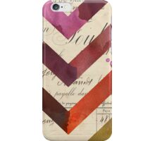 Zig-Zag (Old Vs. New) iPhone Case/Skin