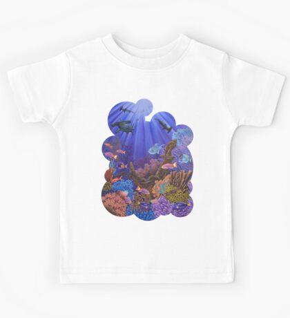 Underwater coral reef Kids Tee