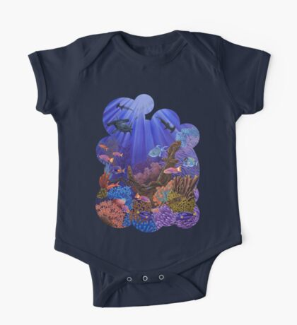 Underwater coral reef One Piece - Short Sleeve