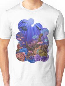 Underwater coral reef Unisex T-Shirt