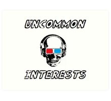 Uncommon Interests Logo 3 Art Print