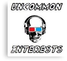 Uncommon Interests Logo 3 Canvas Print