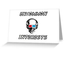 Uncommon Interests Logo 3 Greeting Card
