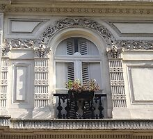 Wow window in Paris by Carol Dumousseau