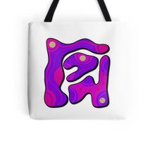 Purple graffiti  Tote Bag