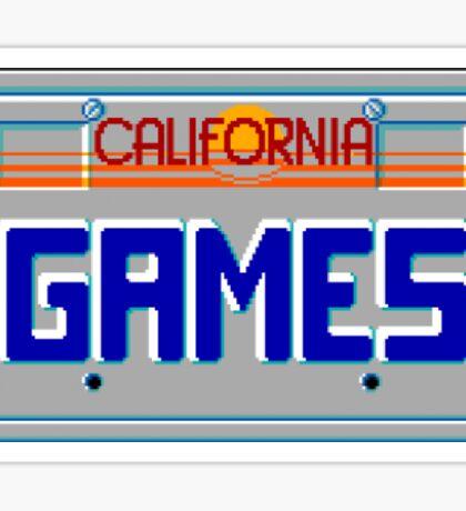 CALIFORNIA GAMES - SEGA MASTER SYSTEM Sticker