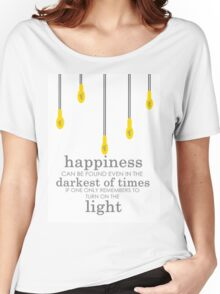 happiness // albus dumbledore Women's Relaxed Fit T-Shirt