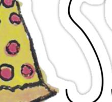 YASSS PIZZA YASSS Sticker