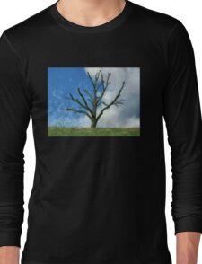 Trimmed Tree Long Sleeve T-Shirt
